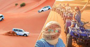 Desert safari dubai with dhow cruise