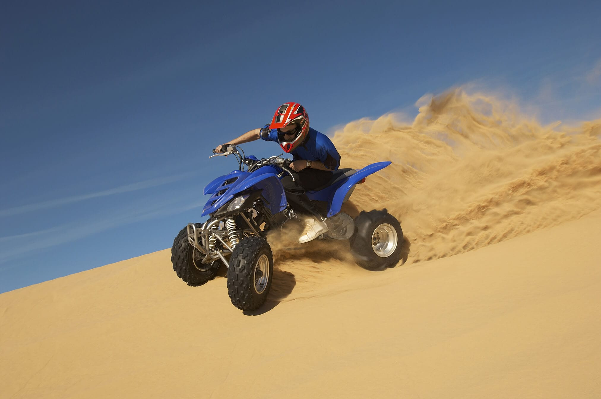 , Morning Desert Safari Dubai with quad bike
